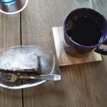 コーヒー米粉ケーキ